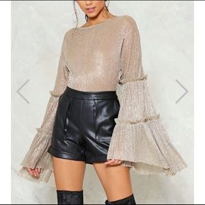 """Nasty Gal Tops - Nasty Gal """"About That Drama"""" Bodysuit"""